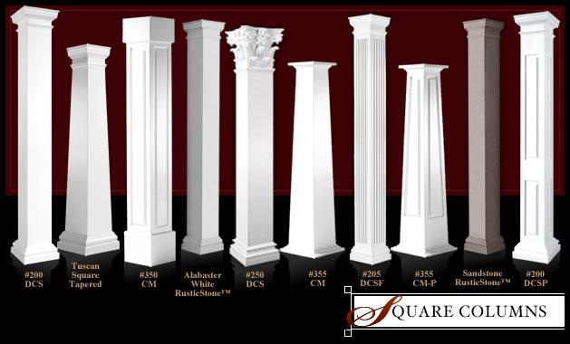 Architectural Columns And Pillars : Architectural columns by melton classics