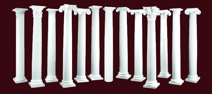 Decorative Columns Crafted Quality