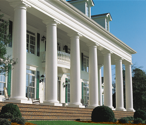 Fiberglass Porch Columns Pictures To Pin On Pinterest